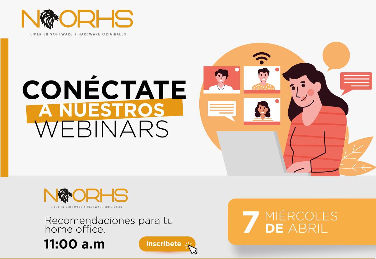 Webinar Noorhs de recomendaciones para tu Home Office