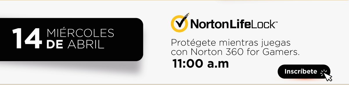 Norton webinar Protégete mientras juegas